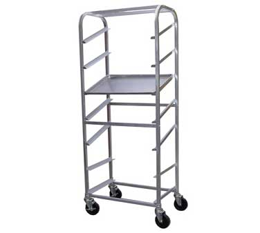 AAR-0629S GSW USA - Display & Storage Rack, slanted, open sides, (7) 18