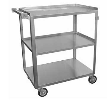 C-3111 GSW USA - Utility Bussing Cart, small, (3) shelves with 12