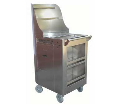 C-FRY GSW USA - Chinese Dim Sum Fry Cart, 20