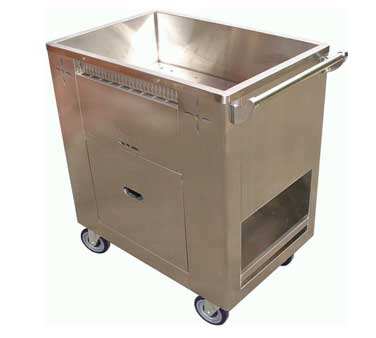 C-STM GSW USA - Chinese Dim Sum Steam Cart, 20