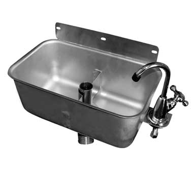 HS-DSREG GSW USA - Dipperwell Sink, table mount, 9-1/2