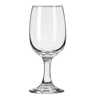 3765 Libbey Glass - Wine Glass, 8-1/2 oz., Safedge rim and foot guarantee, EMBASSY®