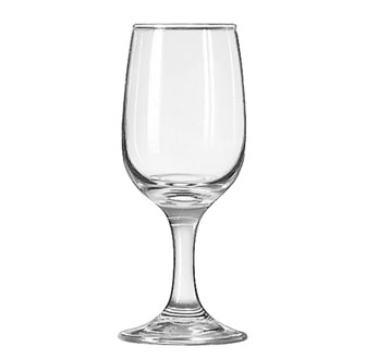 3766 Libbey Glass - Wine Glass, 6-1/2 oz., Safedge rim and foot guarantee, EMBASSY®