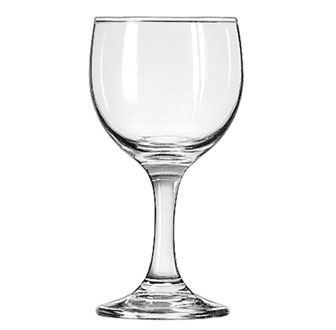 3769 Libbey Glass - Wine Glass, 6-1/2 oz., Safedge rim and foot guarantee, EMBASSY®