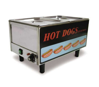 TS9999 Omcan - (17133) Hot Dog Steamer table top