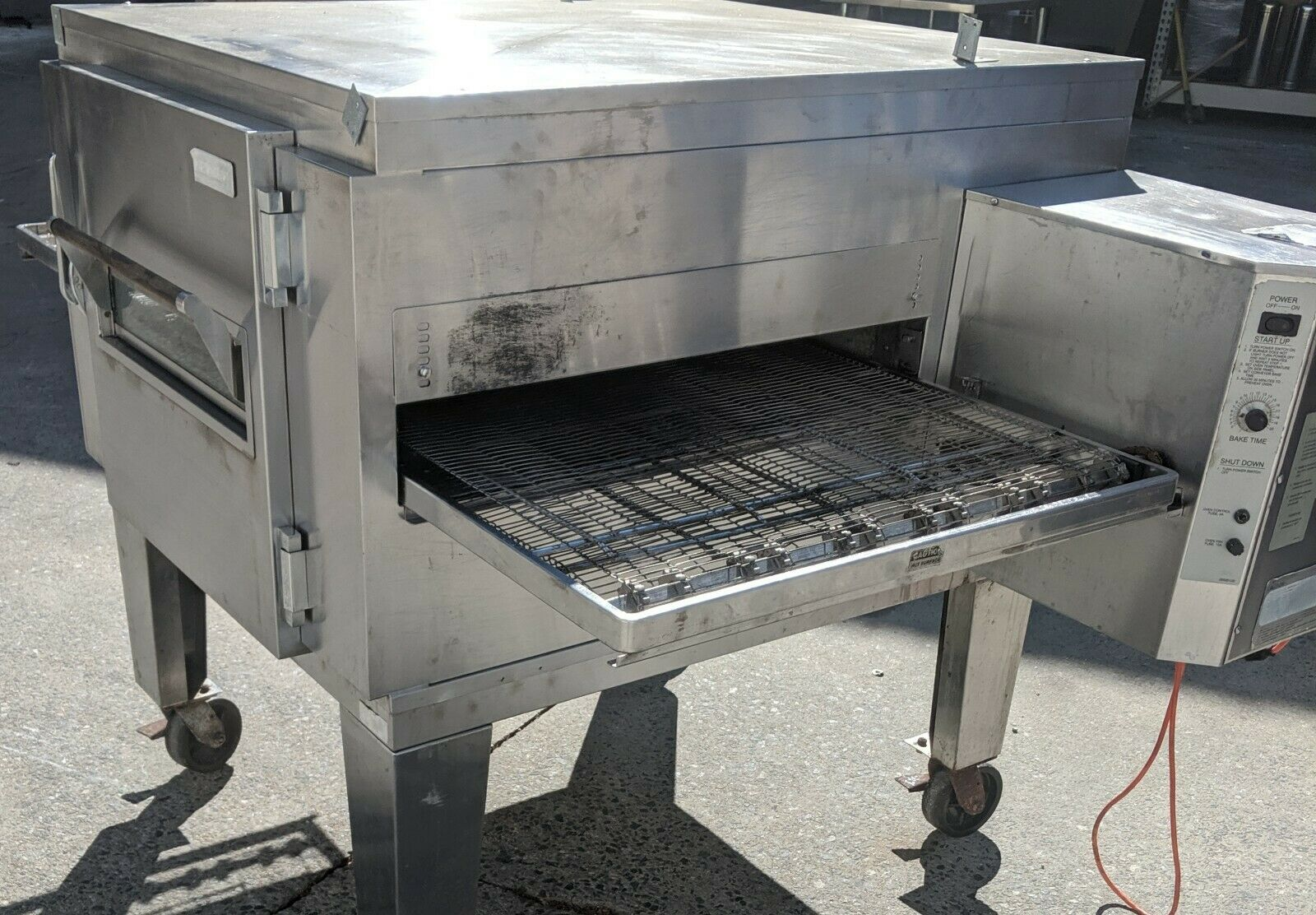Used Lincoln 1451 Lincoln Impinger Conveyor Pizza Oven