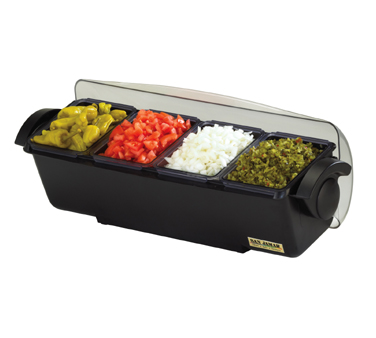 BD4004 San Jamar - The Dome® Condiment Center