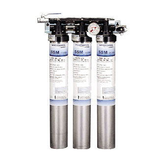 SSM3-P - Water Filter Assembly triple system