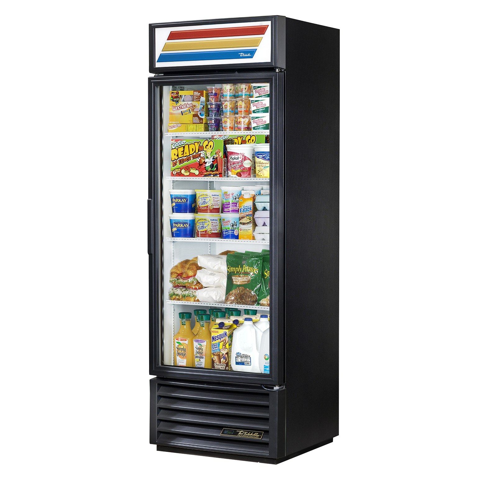 GDM-19T-HC-LD True - Refrigerated Merchandiser one-section