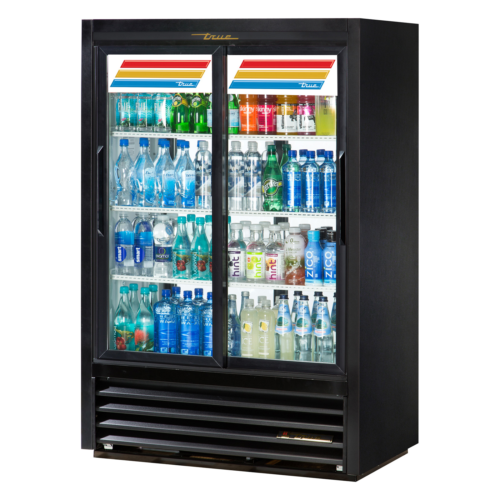 GDM-33CPT-LD True - Convenience Store Cooler Pass-thru