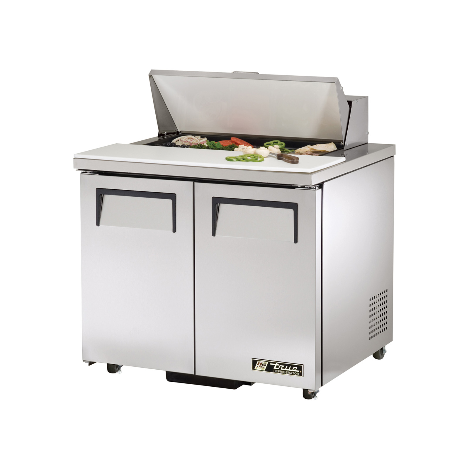 TSSU-36-08-ADA True - ADA Compliant Sandwich/Salad Unit (8) 1/6 size (4