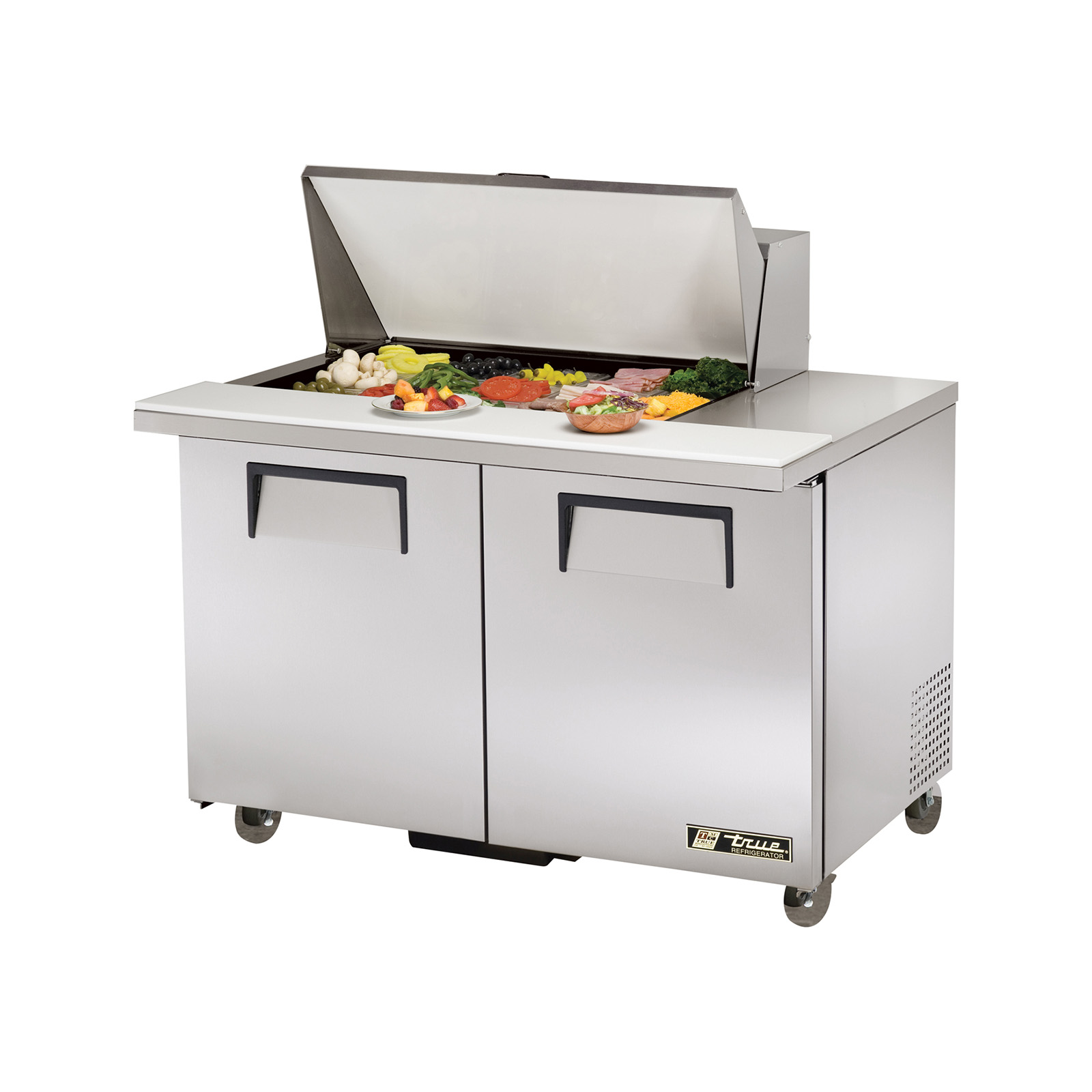 TSSU-48-15M-B-ADA True - ADA Compliant Mega Top Sandwich/Salad Unit (15) 1/6 size (4