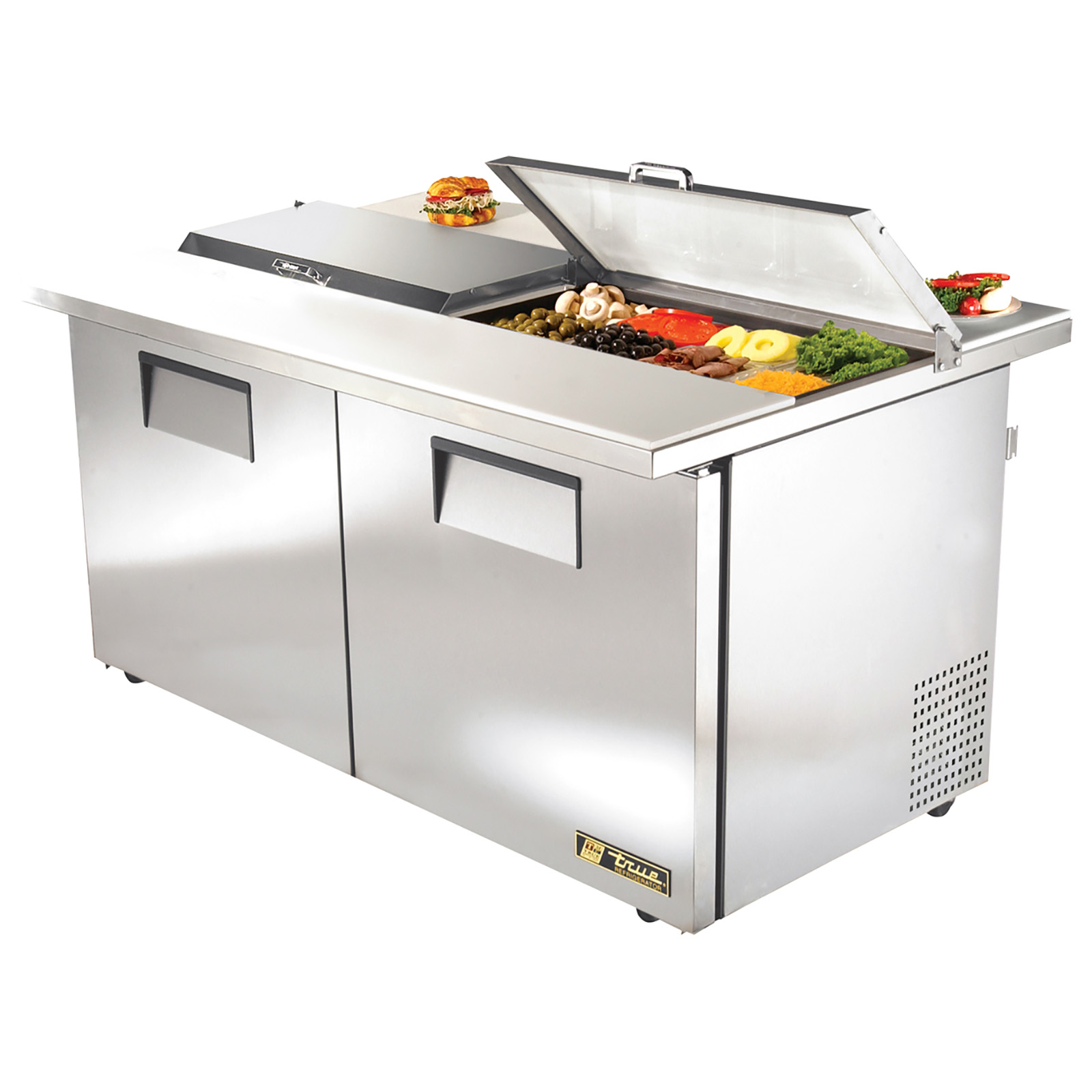 TSSU-60-16-DS-ST-ADA True - ADA Compliant Dual Side Sandwich/Salad Unit (16) 1/6 size (4