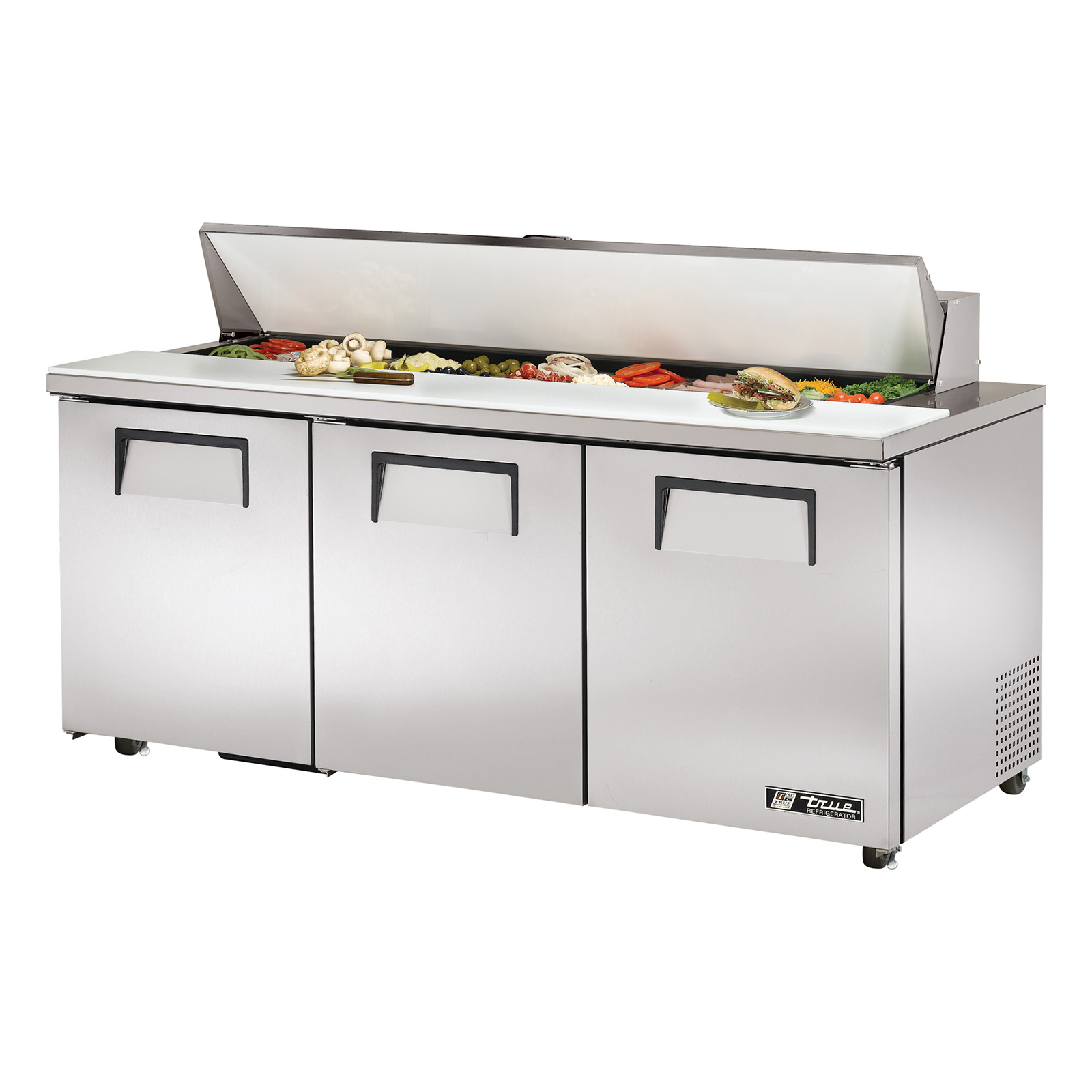 TSSU-72-18-ADA True - ADA Compliant Sandwich/Salad Unit (18) 1/6 size (4