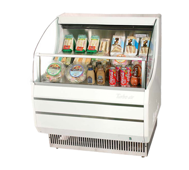 TOM-30S - Horizontal Open Display Merchandiser