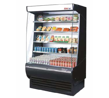 TOM-36-DX - Extra Deep Vertical Open Display Merchandiser