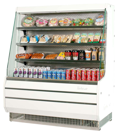 TOM-50M - Vertical Open Display Merchandiser