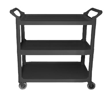 BC-2416BZ Update International - Bus Cart 31x16x37 Black (k.d.)