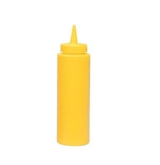 SBY-08 Update International - Squeeze Bottle, 8 oz., yellow, (6 each per pack)