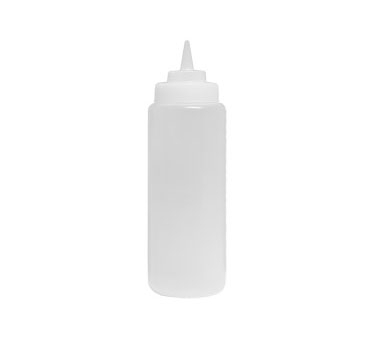 SBC-24W Update International - Squeeze Bottle, 24 oz., wide mouth, clear, (6 each per pack)