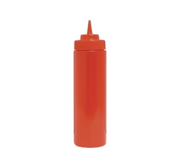 SBR-24W Update International - Squeeze Bottle, 24 oz., wide mouth, red, (6 each per pack)