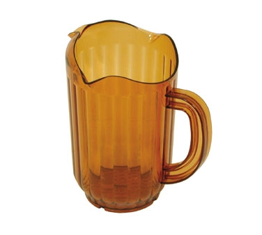 WP-60PB Update International - Water Pitcher, 60 oz., polycarbonate, amber