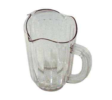 WP-60PC Update International - Water Pitcher, 60 oz., polycarbonate, clear