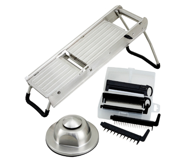 MDL-15 Winco - Mandoline Slicer Set