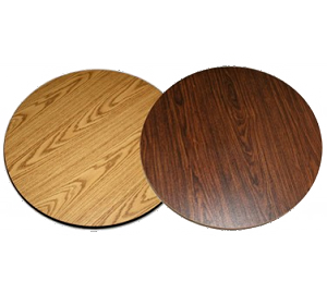 "DT60R All About Furniture - Reversible Table Top round 60"" dia."