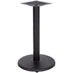 "B18RT Flash Furniture - XU-TR18-GG Table Base 18"" dia. base spread with 3"" dia. column"