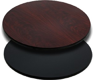 T24RMB Flash Furniture - XU-RD-24-MBT-GG Reversible Table Top round 24""