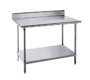 "KLG-309 Advance Tabco -Work Table 30"" wide top"