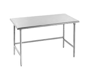 "TSS-249 Advance Tabco -Work Table 24"" wide top"