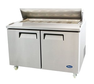 MSF8303 Atosa - Sandwich/Salad Top Reach-In Refrigerator two-section