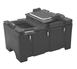 100MPCHL131 Cambro - CAMCARRIER MPC HNGD LID-DKBRN