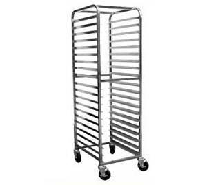 "AAR-2022 GSW USA - Bun Pan Rack, open sides, (20) 18"" x 26"" pan capacity"