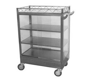 "C-DSL GSW USA - Chinese Dim Sum Cart, large, 20""W x 36""L x 43-1/2""H"