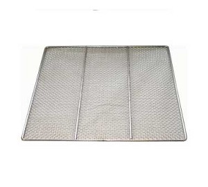 "DN-FS23 GSW USA - Donut Frying Screen, 23"" x 23"",  24 gauge stainless steel"