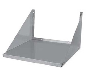 MS-2418 GSW USA - Microwave Oven Shelf, wall mount, space saver