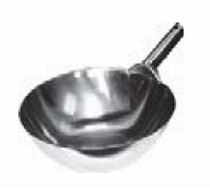 "WK-14S GSW USA - Chinese Wok, 14"" dia. x 4-1/2"" depth, welded single handle, iron"