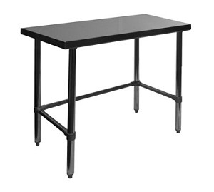 "WT-P3012B GSW USA - Premium Work Table, 30""D x 12""W x 35""H"