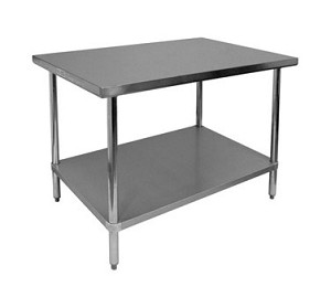 "WT-P3018 GSW USA - Premium Work Table, 30""D x 18""W x 35""H"