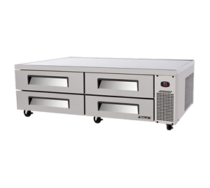 TCBE-82SDR - Super Deluxe Chef Base Refrigerator