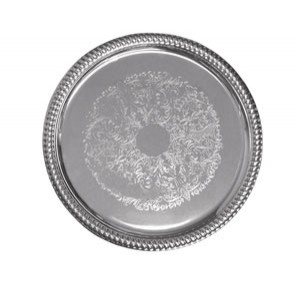 "CT-14R Update International - Tray, 14"", round, chrome plated"
