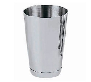 "CTS-15 Update International - Cocktail Shaker, 15 oz., 3-1/4"" dia., 4-5/8""H, stainless steel"