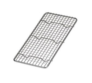 "PG510 Update International - Wire Pan Grate, 1/3 size, 5"" x 10"", chrome plated"