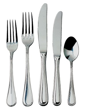 RE-102 Update International - Bouillon Spoon, mirror polish, extra heavy weight