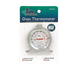 "THOV-20 Update International - Oven Thermometer, 2"" dial, NSF"