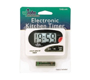 "TIMD-HM Update International - Digital Timer, hour/minute, 3-1/4"" x 2-3/8"", with clip & magnet"