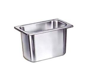 "SPH-112 Update International - Steam Table Pan, 1/9 size, 2-1/2"" deep, anti-jamming, anti-jamming"